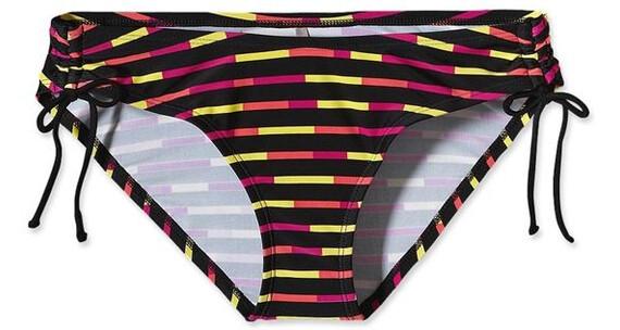 Patagonia W's Sunamee Side Tie Bottoms Pop Stripe: Black (969)
